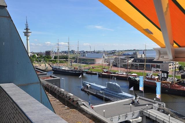 Blick auf Museumshafen