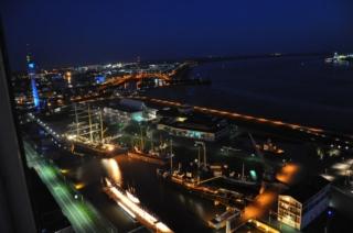 Museumshafen bei Nacht