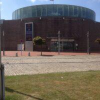 Stadthalle für Konzerte, Eisarena, Basketball
