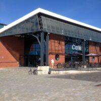 Veranstaltungsgebäude im Fischereihafen
